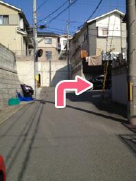 六地蔵方面アクセス写真7